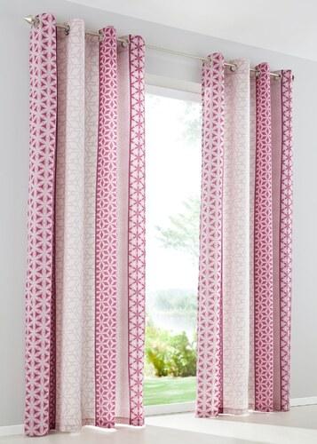 bpc living vorhang pia 1er pack in lila von bonprix. Black Bedroom Furniture Sets. Home Design Ideas