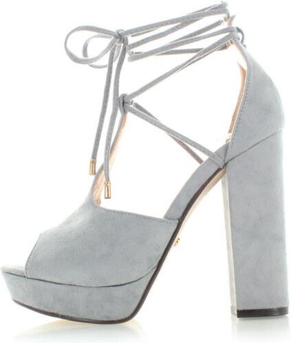 Ideal Sivé sandále Irian - Glami.sk 15725b8e8c4