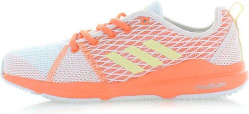 adidas PERFORMANCE Fehér-narancssárga női tornacipő ADIDAS Arianna Cloudfoam 06ae31fa5c