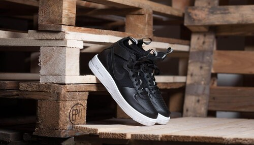 Nike W Air Force 1 Ultraforce MID Light Bone  Light Bone-White ... dcf67854409