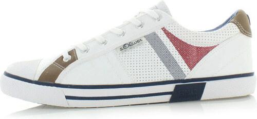 574ae03857 Pánske biele tenisky s.Oliver 13622 - Glami.sk