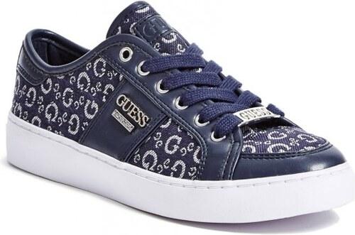 d1cfa1b2f1 GUESS Dámské tenisky Blume Low-Top Sneakers - blue multi fabric ...