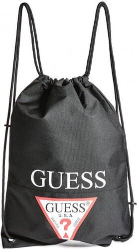 294b864fec0 GUESS Dámský batoh Drawstring Backpack - black - Glami.cz