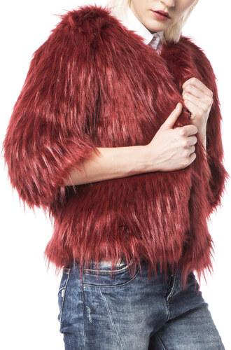 Plums Kabát Červená bfb43e6fa39
