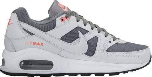 Dětské tenisky Nike AIR MAX COMMAND FLEX (GS) COOL GREY PURE PLATINUM- 5c4c891292