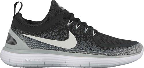 -14% Dámské běžecké boty Nike WMNS FREE RN DISTANCE 2 BLACK WHITE-COOL GREY- bfe159c6c8