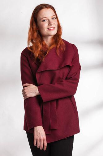 af68b619e8fa SHOPHYL Moderní krátký Dámský kabát Cocoon
