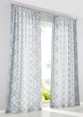 bpc living bonprix panneau gesine 1 pce gris pour maison. Black Bedroom Furniture Sets. Home Design Ideas