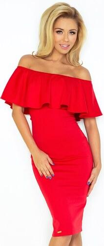 NUMOCO Dámské šaty Hispania červené - Glami.cz 2b1227fdf6