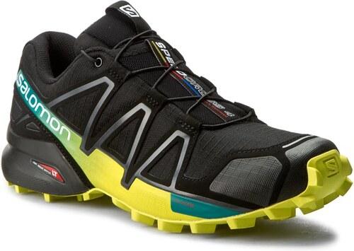 Cipő SALOMON - Speedcross 4 392398 28 V0 Black Everglade Sulphur Spring 3b0da4ea1b
