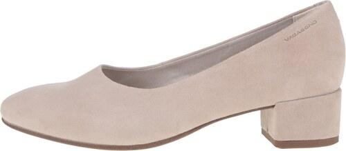 273d2070b68d Béžové dámske topánky na podpätku Vagabond Jamilla - Glami.sk