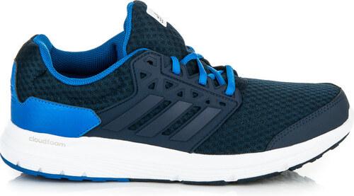 Štýlové modré športové pánske tenisky Adidas - Glami.sk c3d5e209248