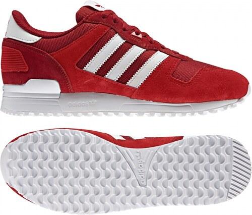 Tenisky adidas Originals ZX 700 (Červená   Biela   Oranžová) - Glami.sk 9527277f225