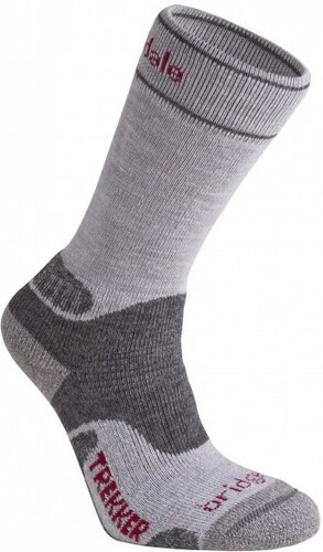 f1dd3f0797e Ponožky Bridgedale WoolFusion Trekker W´s silver grey - Glami.cz