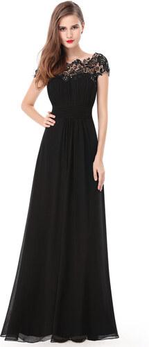 Ever-Pretty Černé krajkové šaty - Glami.cz 4bf7ed1016c