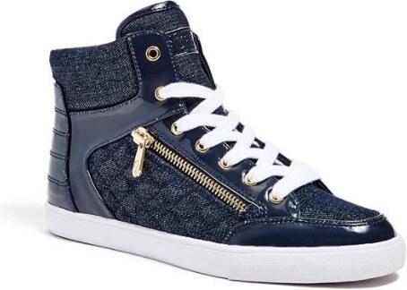 017740fae5a GUESS tenisky Mindie Denim sneakers riflové