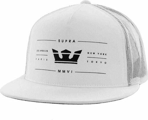 kšiltovka SUPRA - Renowned Trucker White Black (WBK) - Glami.cz ab716ccfb8
