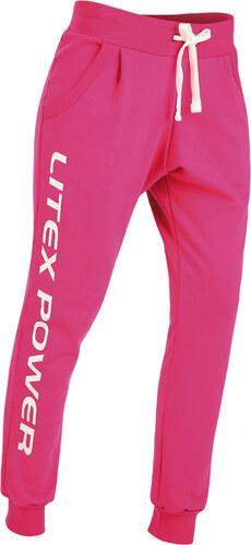 675475be14 LITEX Tepláky dámske dlhé s nízkym sedom. 90154303 ružová - Glami.sk