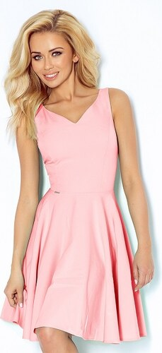 NUMOCO 114-5 elegantní šaty růžové XL - Glami.cz 5e7c3f567b