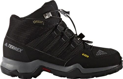 -39% adidas Performance Dětská treková obuv adidas TERREX MID GTX K  CBLACK CBLACK VISGRE e07be350b4