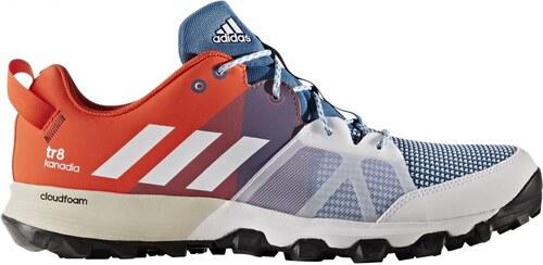 343602747 adidas Performance Pánské běžecké boty adidas kanadia 8 tr m  CORBLU/FTWWHT/ENERGY