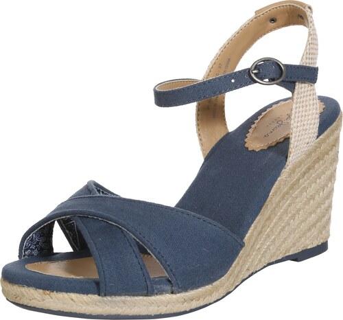 Pepe Jeans Páskové sandály  Shark  béžová   marine modrá - Glami.cz 2bba1f861b