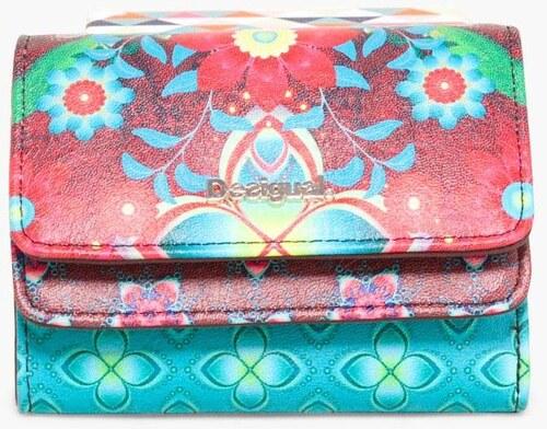 peňaženka Desigual Mix Kaitlin fresa - Glami.sk d04895c7b18