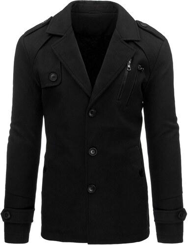 bez výrobcu Pánsky čierny kabát na zimu - Glami.sk 55642e29bfa