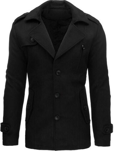 bez výrobcu Pánsky čierny zimný kabát - Glami.sk 5b6f81c5216