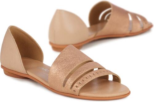 09f5f5d99e Emu bronzové sandále Ibis Rose Gold   Sand - Glami.sk