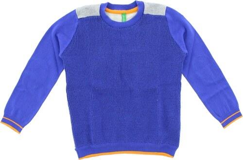 Fiú United Colors of Benetton Gyerek pulóver Kék Szürke - Glami.hu c67bd9320a