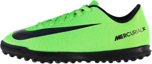 boty Nike Mercurial X Vortex Astro Turf dětské Green Black - Glami.cz a41e457429