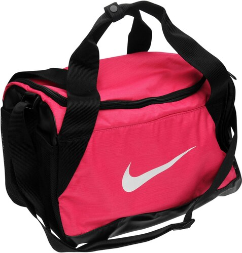 ec3e913814 Športová taška Nike Brasilia XS Grip dám. ružová - Glami.sk