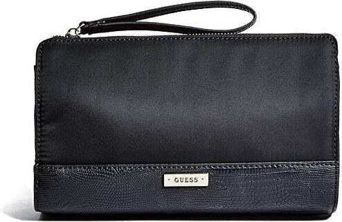 Guess Listová kabelka Avery Wristlet Pouch Čierne - Glami.sk 95b13e16a2c