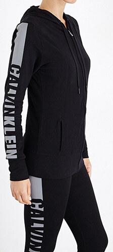 Calvin Klein Dámská mikina Top Hoodie W Zip QS5547E-001 Black - Glami.cz cd3be7950a1