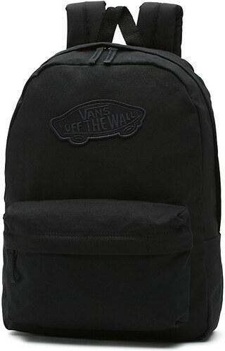 VANS Dámský černý batoh Realm Backpack VNZ0158 - Glami.cz ff3c77aa06