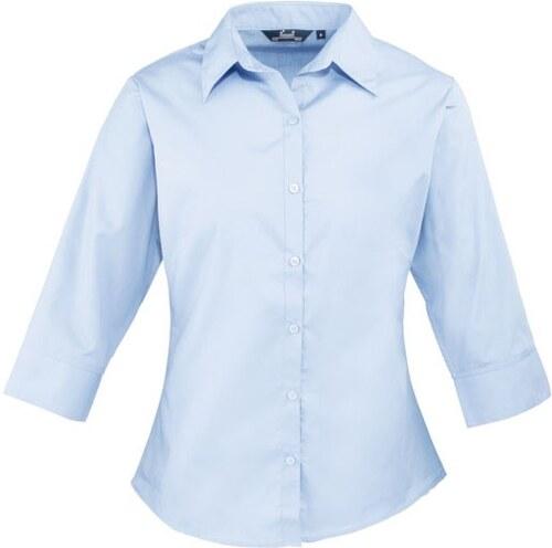 Dámská košile s 3 4 rukávem Premier workwear PR305 - Glami.cz 61b8f7b3d0