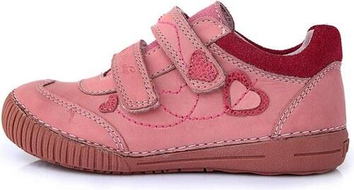 Dětské celoroční boty D.D.step 036-68 růžové - Glami.cz fe7196b9c5