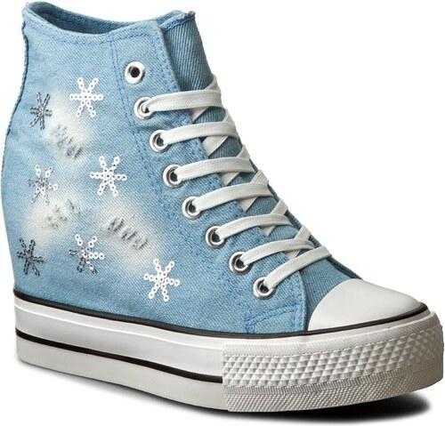 6099e64a8fa17 Sneakersy NYLON RED - W17SS820-3 Jeansowy - Glami.sk