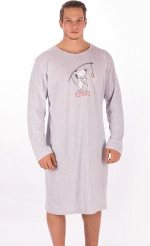 fa414db5718 Gazzaz Pánská noční košile s dlouhým rukávem Sleepwalker - Glami.cz