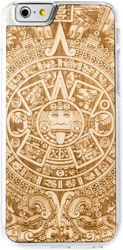 Dřevěný kryt Smartwoods Aztec Calendar Clear pro iPhone 6 6S - Glami.cz d6e658baa0c