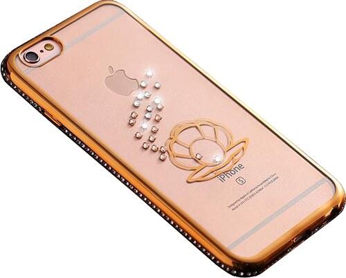 Kryt Crystal Ocean pro iPhone 6 6S - Gold - Glami.cz b013cd6fbd8