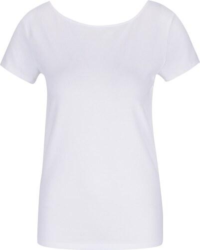 e8c0739034c1 Biele tričko s pásikmi na chrbte ONLY Live - Glami.sk
