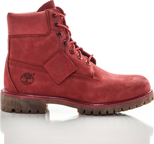 Zimná obuv Topánky Timberland Pánske Red - Glami.sk 7e6b8088cb6