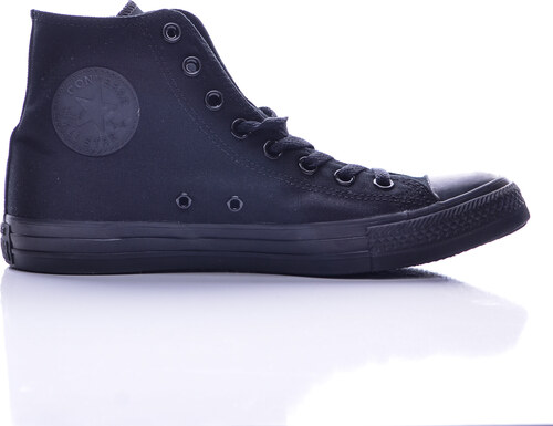 Unisex čierne plátené tenisky Converse Chuck Taylor All Star Hi ... 2a53662dd2