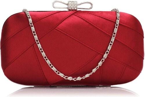 Červená spoločenská kabelka exkluzívneho prevedenia - Glami.sk 25637443adf