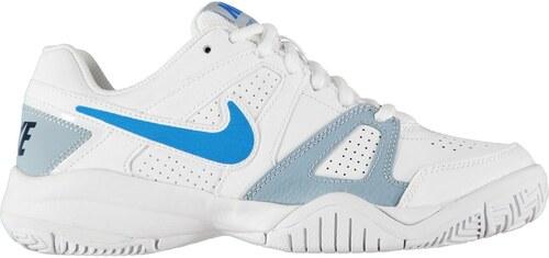 the latest e1b7b 4f0ed Nike City Court 7 Junior Boys Trainers White Blue