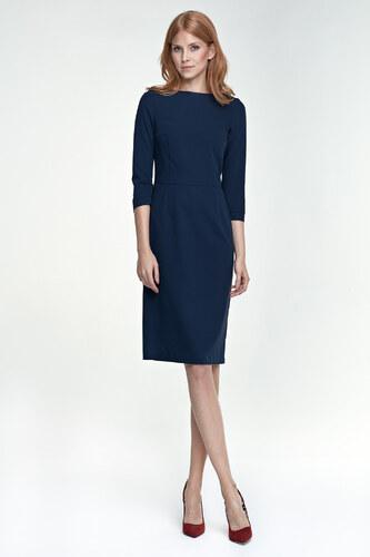 27e36026081 NIFE Dámské šaty Lady modré - Glami.cz