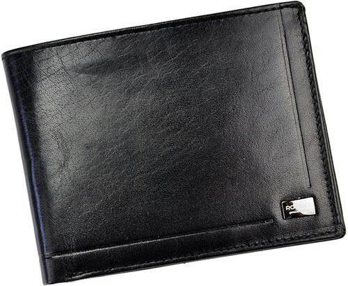 1c89ae34d Pánská kožená peňaženka Rovicky W3008-BAR čierná - Glami.sk