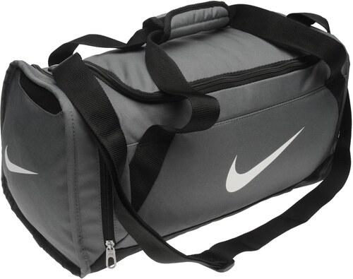 b236dbdc0e Športová taška Nike Brasilia Small Grip šedá - Glami.sk